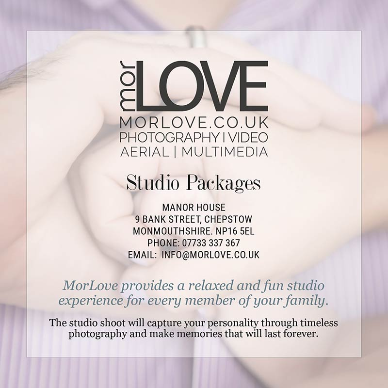 MorLove Photography Studio Packages Front Cover
