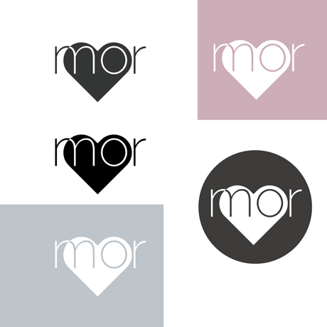 An image of the MorLove branding guidelines logo